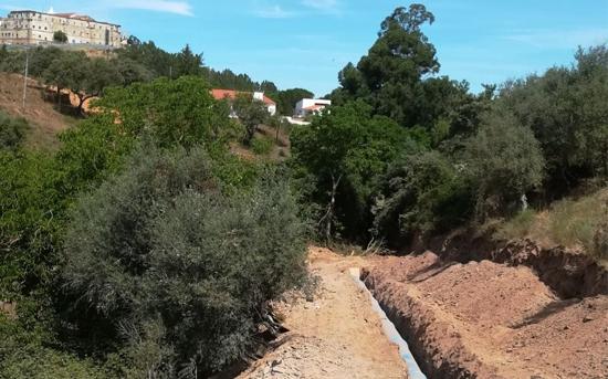 Conducción de regantes del embalse de Maranhao, municipio de Avis (Portugal). 3ª parte.