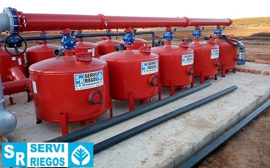 Instalación de riego para 104 Hectáreas de olivar y hortícola en Olivenza (II)