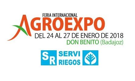 Serviriegos, en Agroexpo 2018