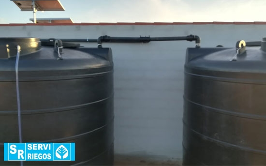 Sistema de fertirrigación de olivar superintensivo en Moura (Portugal)