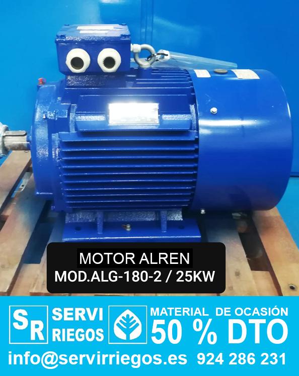 Motor ALREN  Mod. ALG 180 - 2 / 25 kw