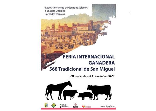 El martes, 28 de septiembre, comienza la Feria Ganadera de Zafra